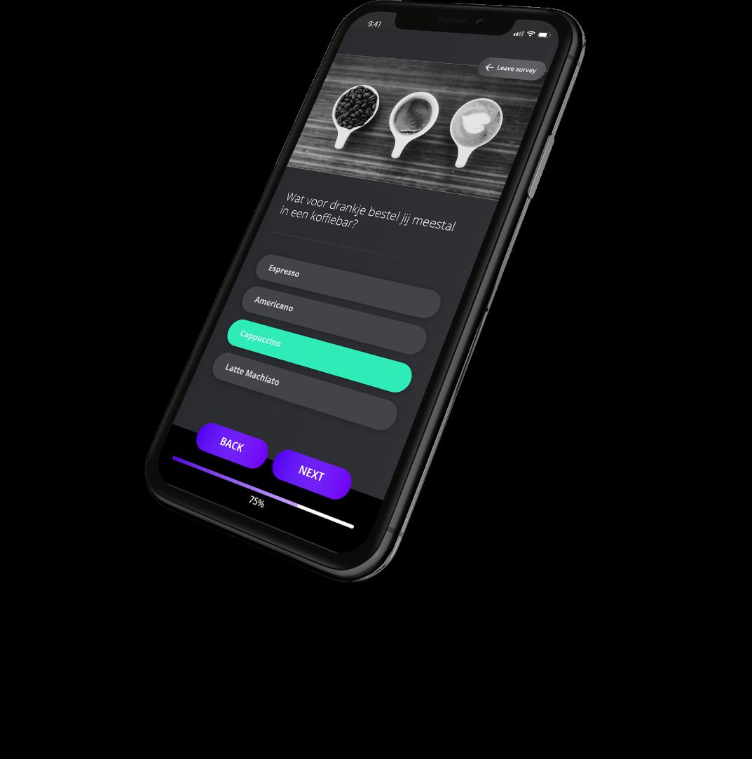 BUFFL mobile app illustration